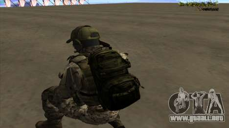 U.S. Navy Seal para GTA San Andreas novena de pantalla