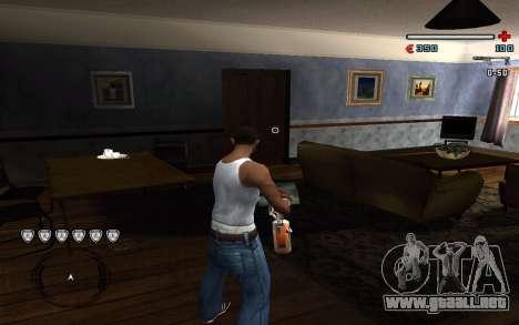 C-HUD by Pro para GTA San Andreas segunda pantalla
