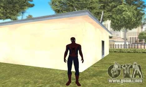 El nuevo spider-man para GTA San Andreas segunda pantalla