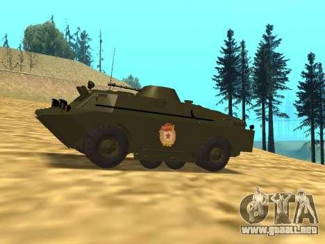 Los guardias de BRDM-2 para GTA San Andreas left