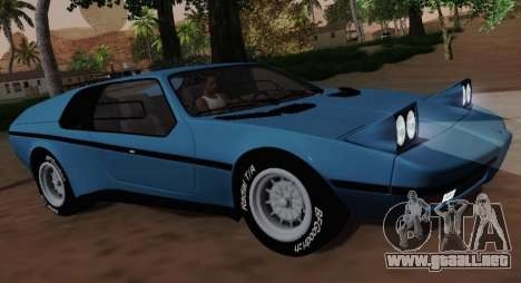 BMW M1 Turbo 1972 para GTA San Andreas left