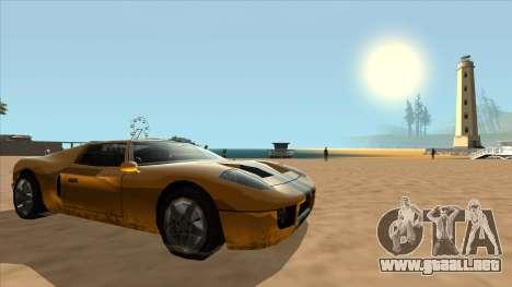 Bullet Restyle para la visión correcta GTA San Andreas