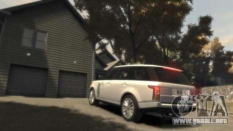 Range Rover Vogue 2014 para GTA 4 vista superior