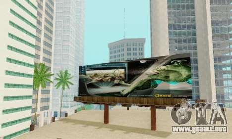 Nuevo de alta calidad de la publicidad en los ca para GTA San Andreas décimo de pantalla