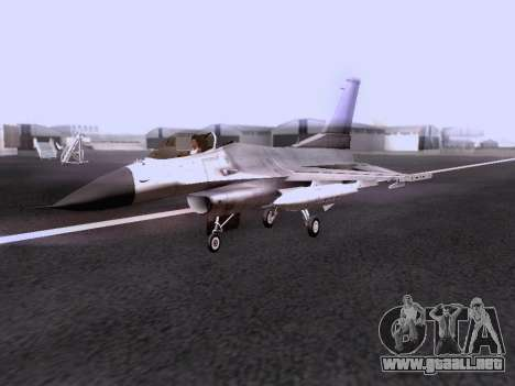 F-16 A para la visión correcta GTA San Andreas