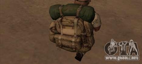 Рюкзак из MOH Warfighter para GTA San Andreas