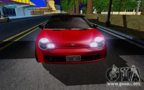 GTA 5 Weeny Issi V1.0 para GTA San Andreas left