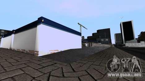 Nuevo Garaje para GTA San Andreas sucesivamente de pantalla
