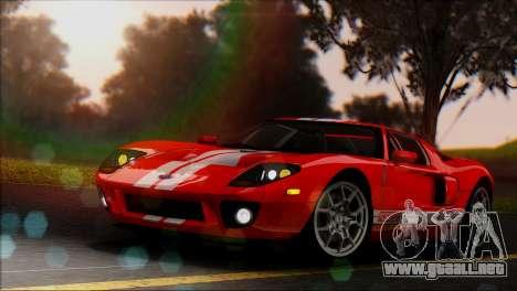 Distance View Mod para GTA San Andreas quinta pantalla