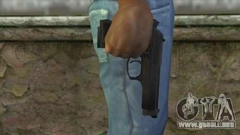 M9 Pistol para GTA San Andreas tercera pantalla
