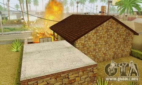 Nueva casa grande de Humo para GTA San Andreas octavo de pantalla