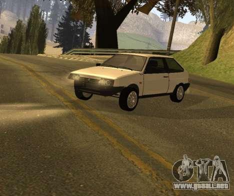 ВАЗ 2108 GVR Versión 1.2 para GTA San Andreas