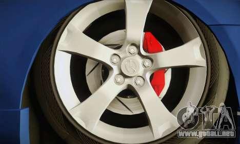 Mazda Axela Sport 2005 para GTA San Andreas vista posterior izquierda