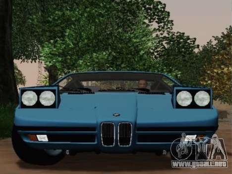 BMW M1 Turbo 1972 para la visión correcta GTA San Andreas
