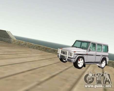 Mercedes-Benz G500 Brabus para visión interna GTA San Andreas