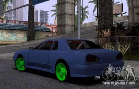 Nueva Elegía para GTA San Andreas vista posterior izquierda