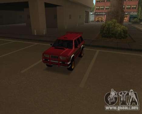 Landstalker V2 para visión interna GTA San Andreas