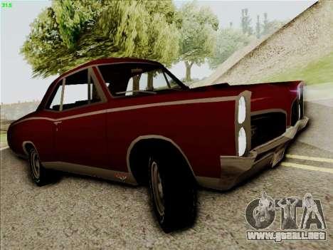 Pontiac GTO 1967 para GTA San Andreas left
