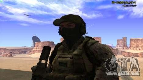 U.S. Navy Seal para GTA San Andreas quinta pantalla