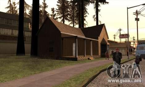 Casa nueva de Sijia en Angel Pine para GTA San Andreas tercera pantalla