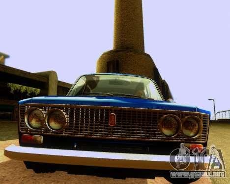 VAZ 2103 Sintonizable para GTA San Andreas interior