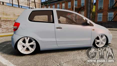 Volkswagen Fox para GTA 4 left