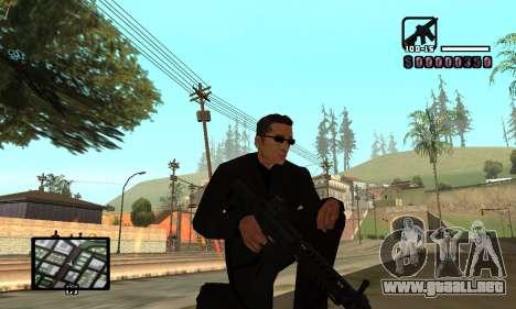C-HUD by Miller para GTA San Andreas sucesivamente de pantalla