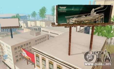 Nuevo de alta calidad de la publicidad en los ca para GTA San Andreas