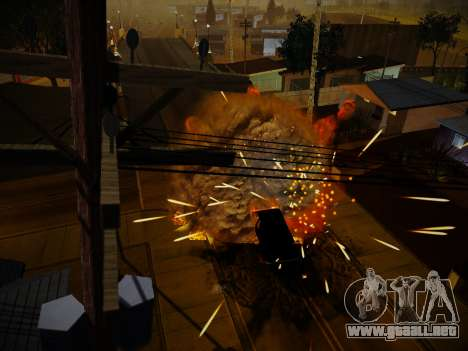 ENBSeries para PC débil por Makar_SmW86 para GTA San Andreas quinta pantalla