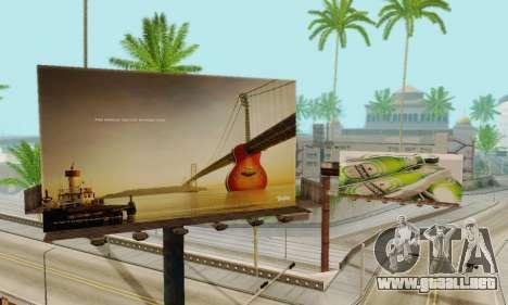 Nuevo de alta calidad de la publicidad en los ca para GTA San Andreas séptima pantalla