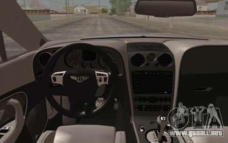 Bentley Continental SuperSports 2010 v2 Finale para la visión correcta GTA San Andreas