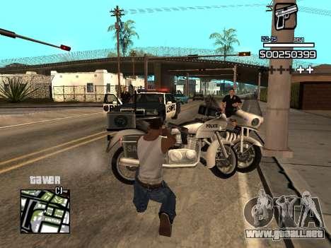 C-HUD By Kapo para GTA San Andreas séptima pantalla