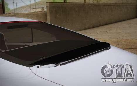 Bentley Continental SuperSports 2010 v2 Finale para GTA San Andreas vista hacia atrás