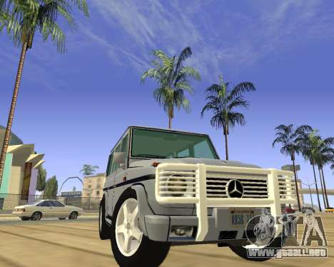 Mercedes-Benz G500 Brabus para la visión correcta GTA San Andreas