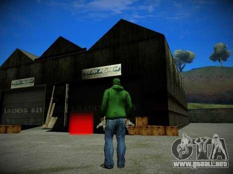 Journey mod by andre500 para GTA San Andreas segunda pantalla