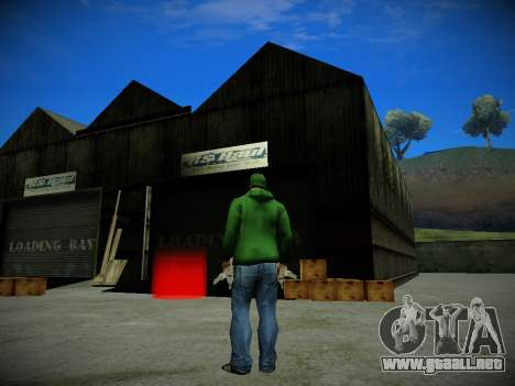 Journey mod: Special Edition para GTA San Andreas segunda pantalla
