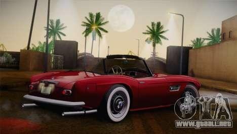 BMW 507 1959 Stock para GTA San Andreas left