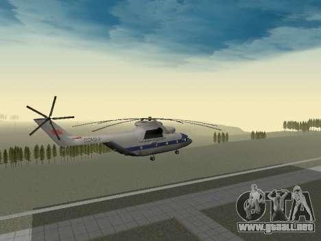 Mi 26 Civil para visión interna GTA San Andreas