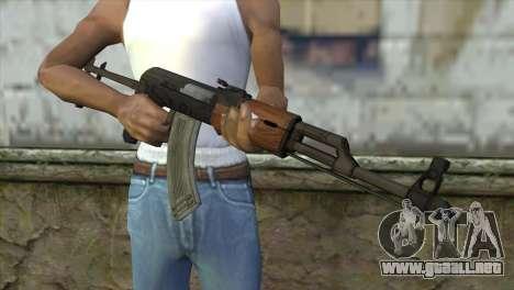 AKM Assault Rifle para GTA San Andreas tercera pantalla