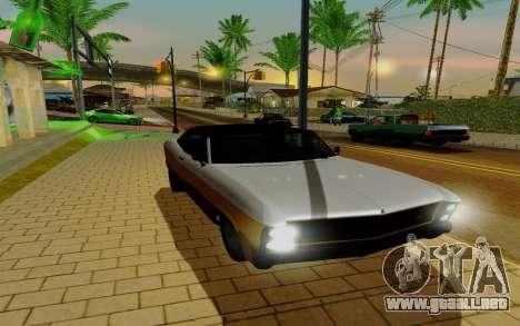 Albany Bucanero из GTA 5 para la visión correcta GTA San Andreas