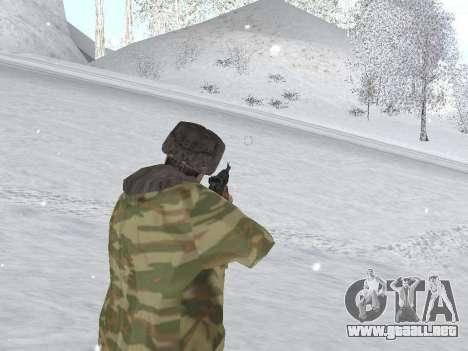 Pak ejército ruso de servicio para GTA San Andreas sexta pantalla