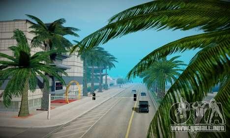 ENBSeries débil para PC para GTA San Andreas octavo de pantalla