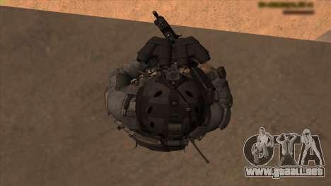 Sgt Keegan P.Russ из De Call of Duty: Ghosts para GTA San Andreas octavo de pantalla