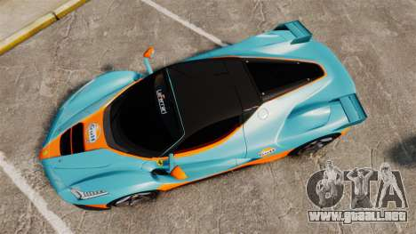 Ferrari LaFerrari v2.0 para GTA 4 visión correcta