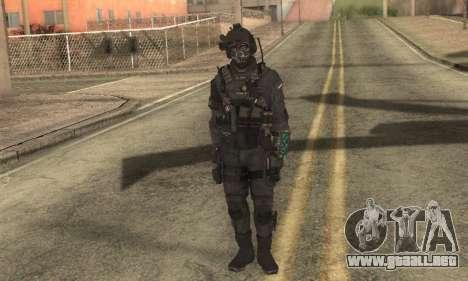 Personalizado из CoD:Ghost para GTA San Andreas segunda pantalla