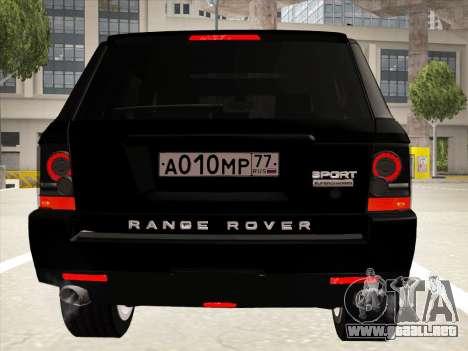 Range Rover Sport para la vista superior GTA San Andreas