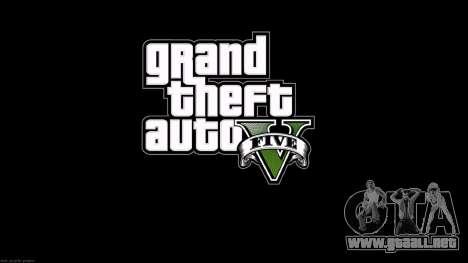 Las pantallas de carga del estilo de GTA 5 para GTA San Andreas