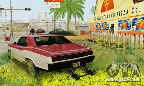 Gta 5 Bucanero actualizado para vista inferior GTA San Andreas