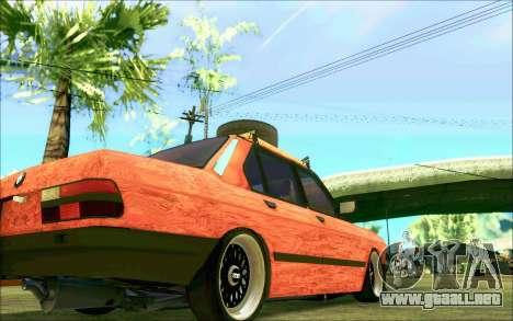 BMW M5 E28 RatStyle para vista lateral GTA San Andreas