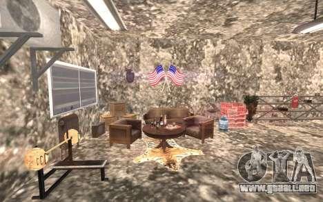 El sótano de la casa de Carl para GTA San Andreas tercera pantalla